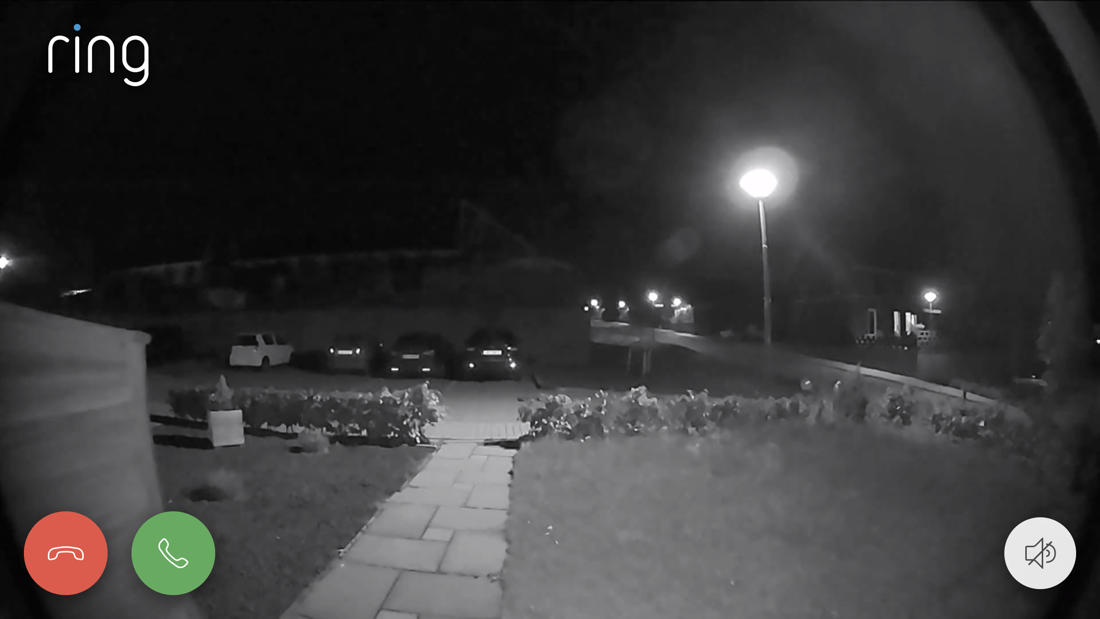 Ring Video Doorbell 2 nacht