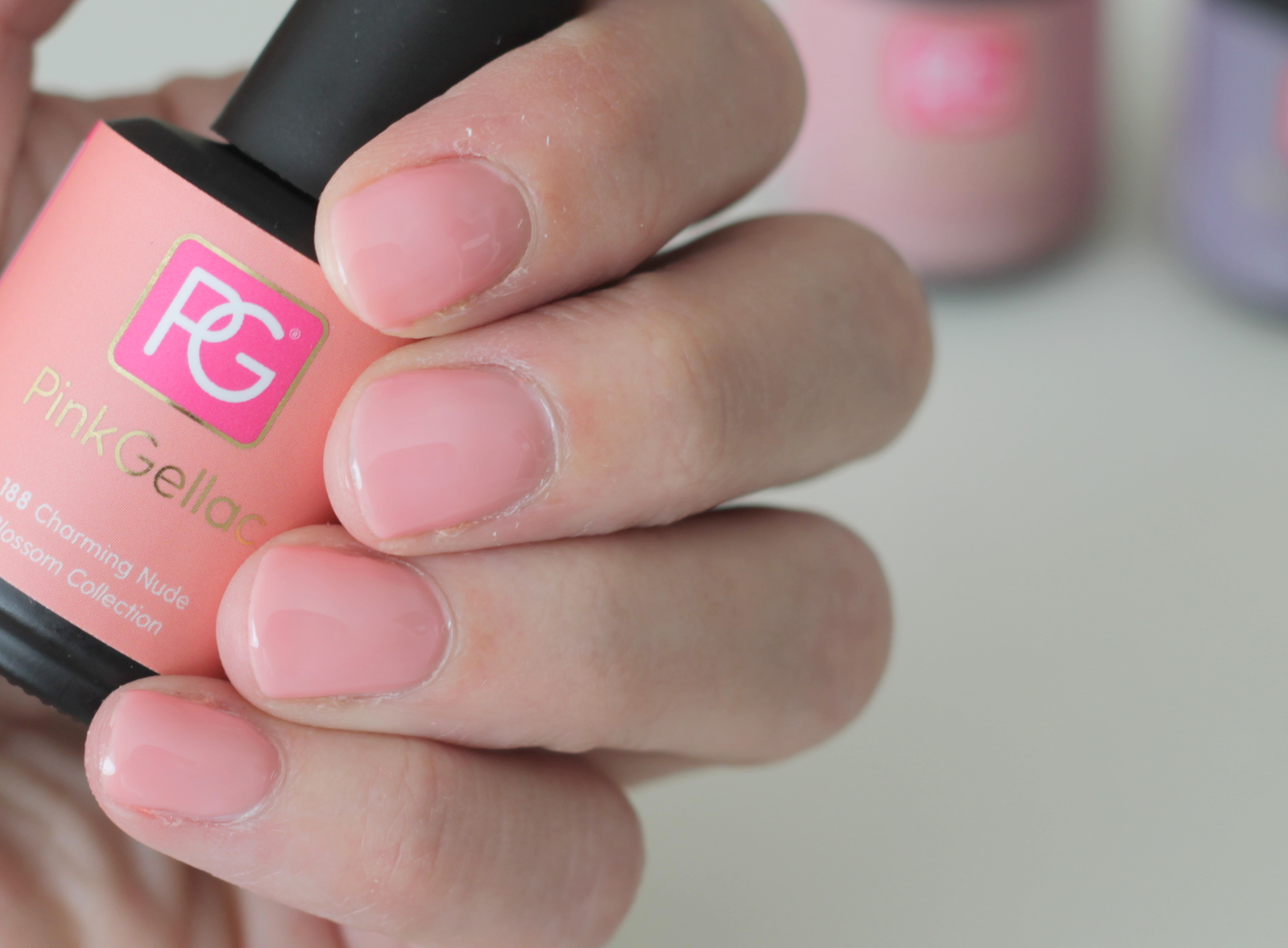 Pink Gellac Soft Purple, Nude Beige & Charming Nude