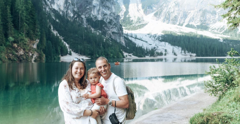 Gezin in Dolomieten