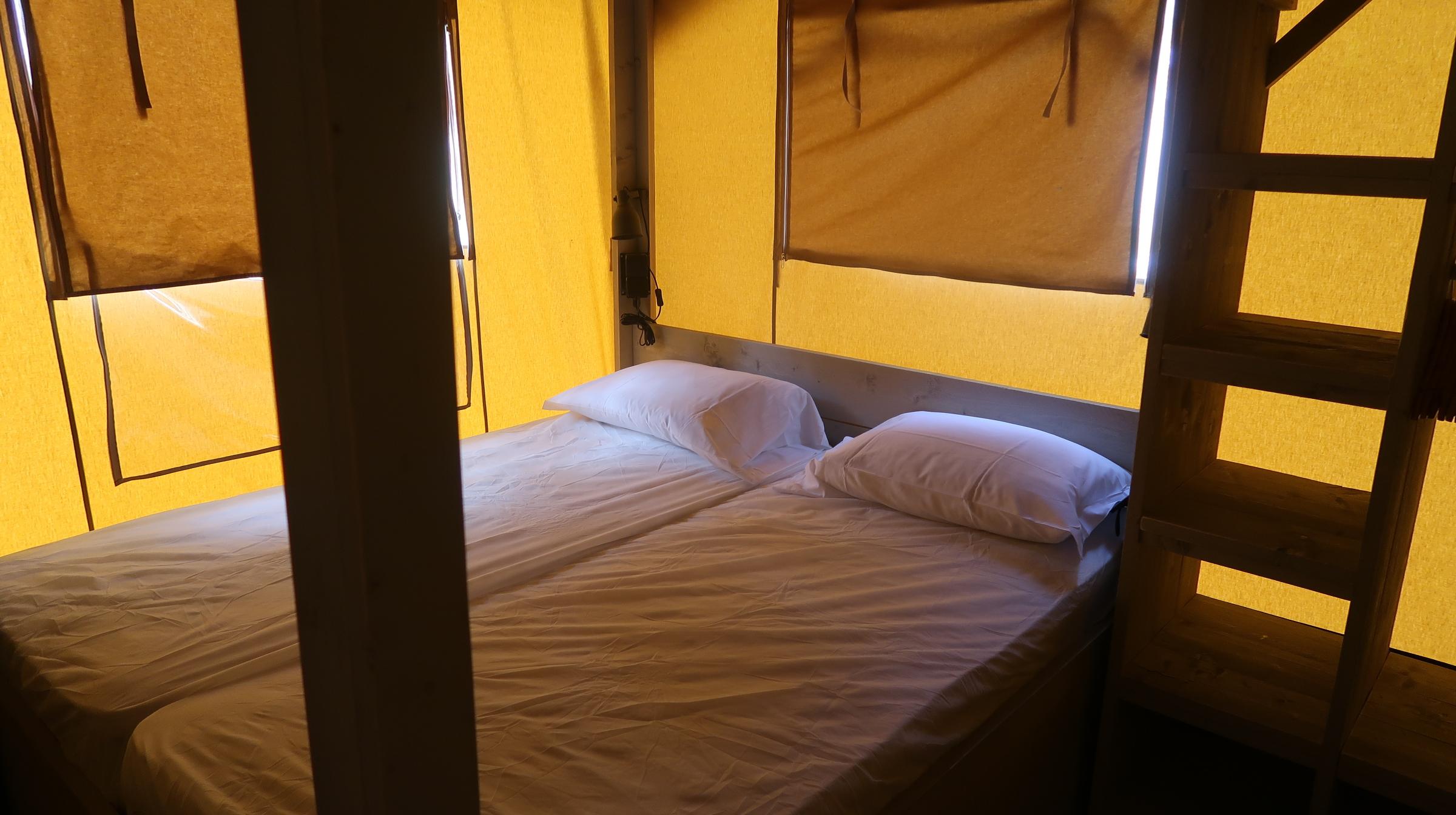 Slaapkamer Villatent