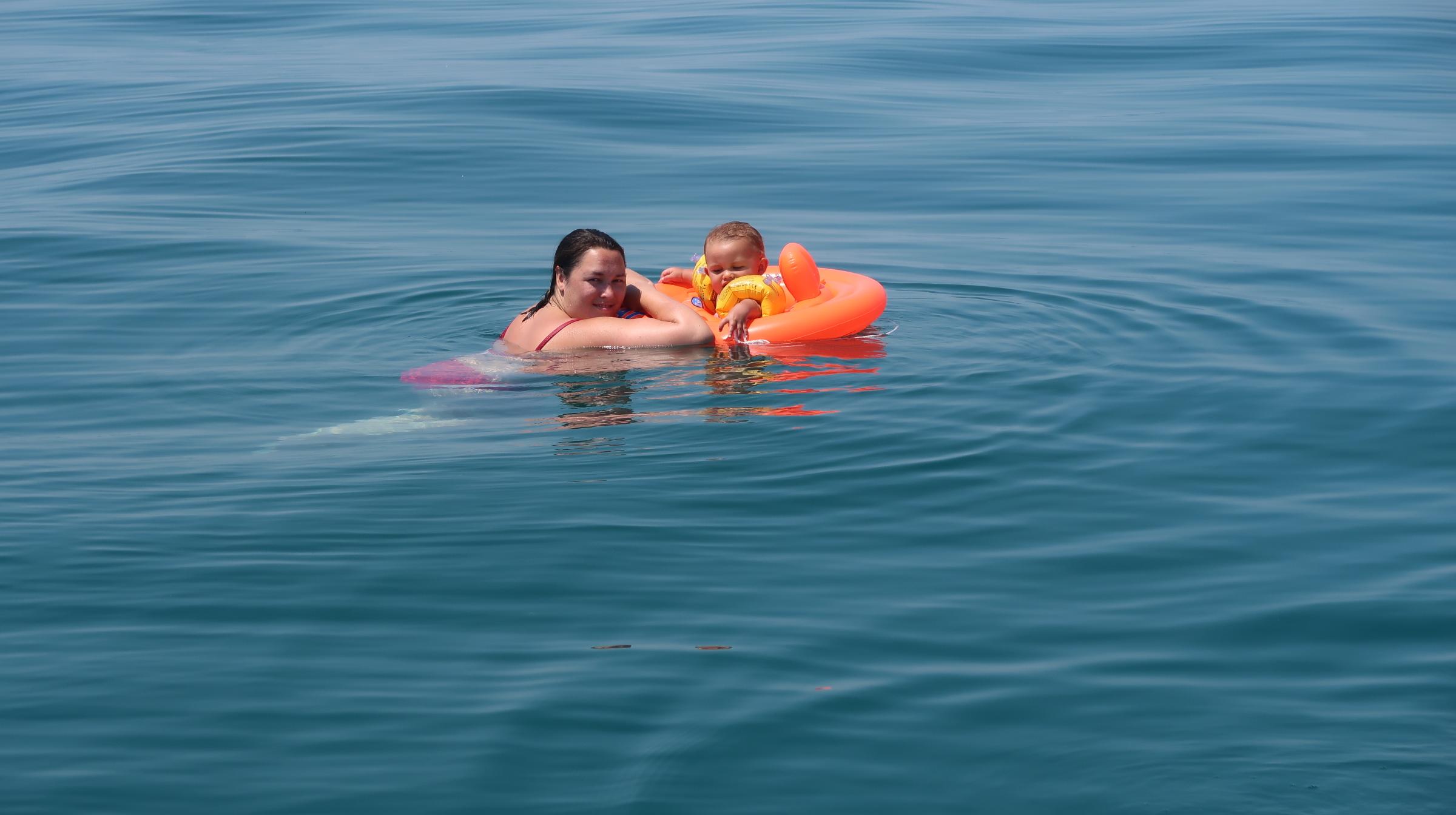 Zwemmen in het Gardameer