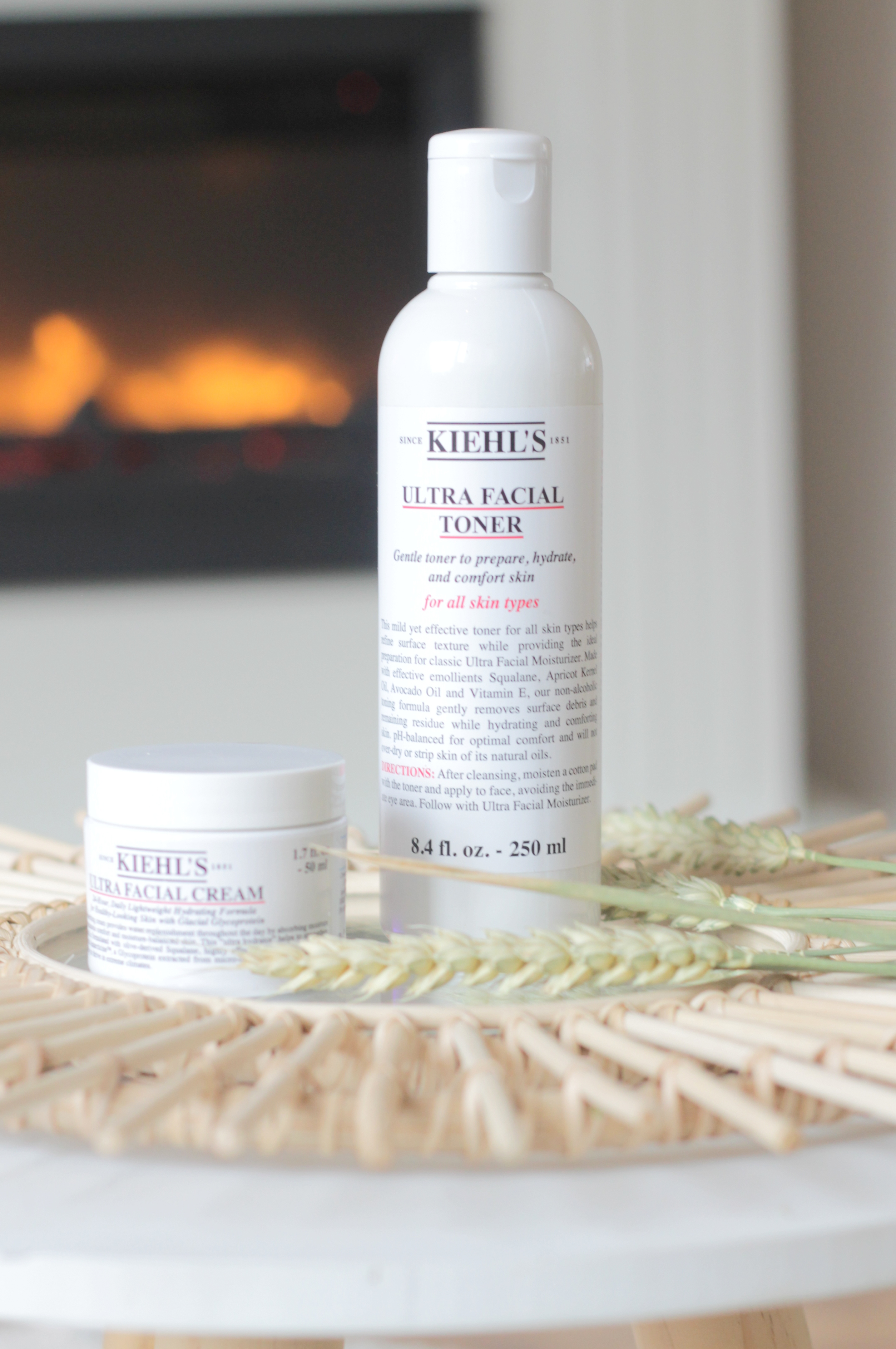 Kiehl's Ultra Facial Cream & Toner