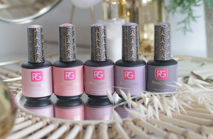 Pink Gellac Uncovered 5 Collection