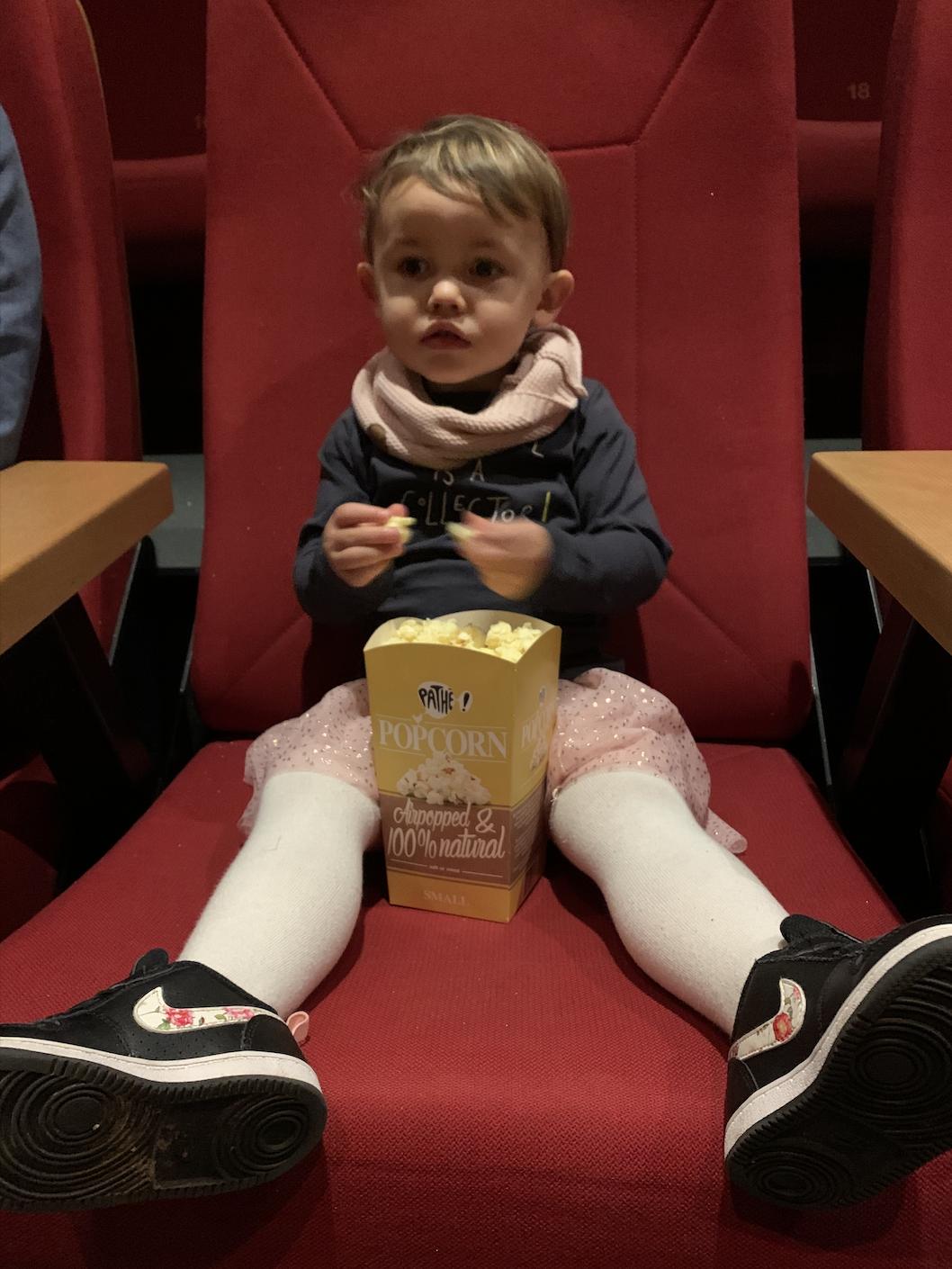 2-jarige in de bios