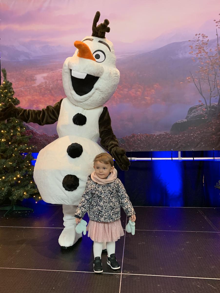 Op de foto met Olaf