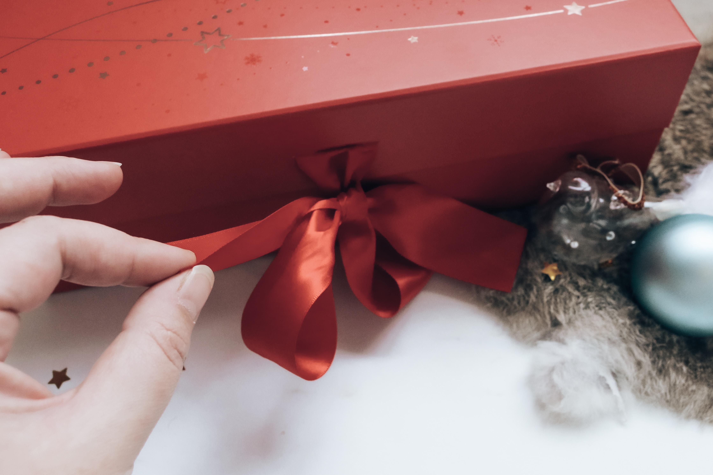 Notino kerstpakket openen