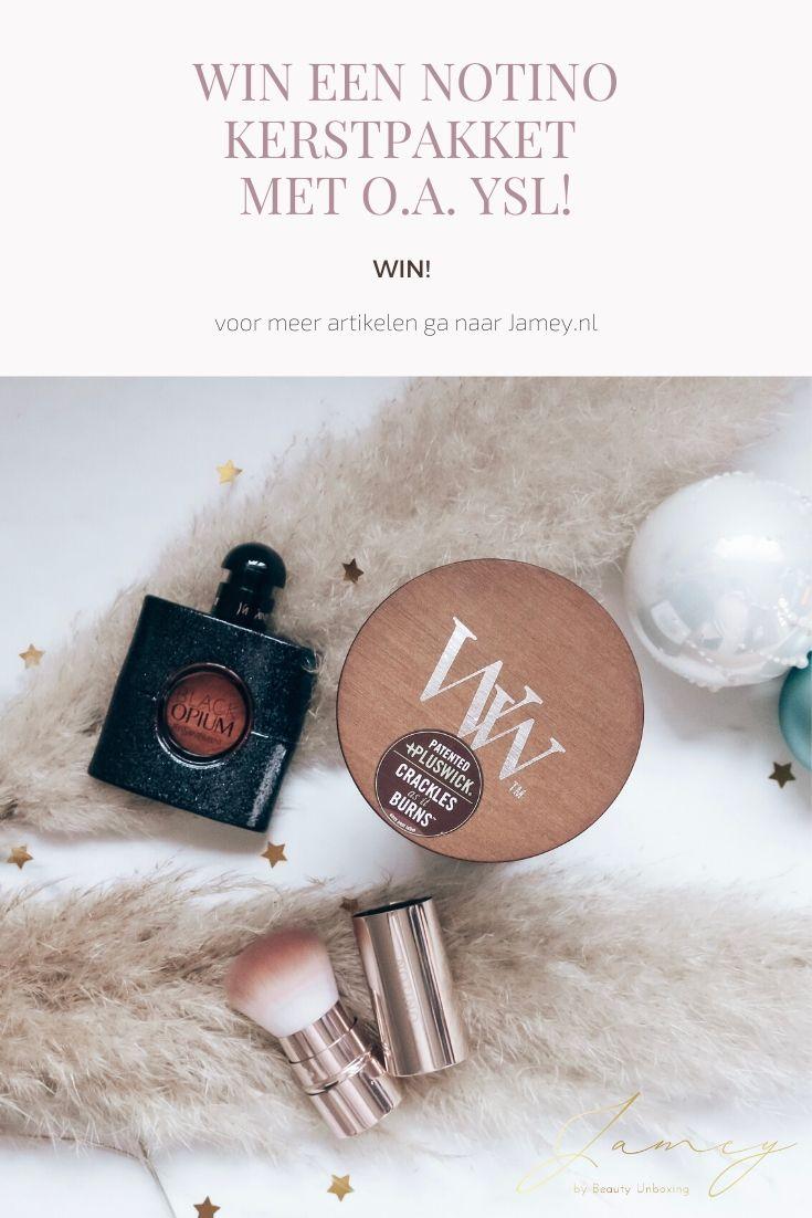 Win een Notino Kerstpakket met o.a. YSL!