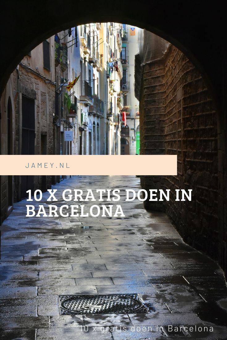 10 x gratis doen in Barcelona