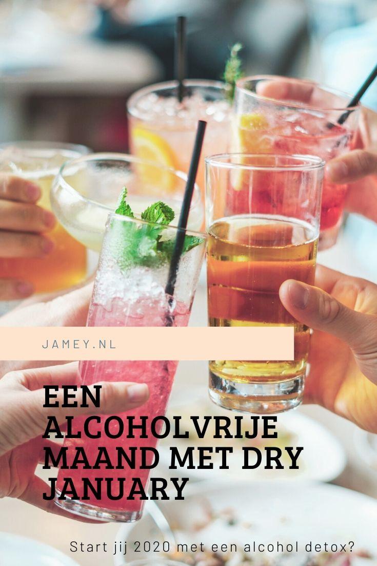 Een alcoholvrije maand met Dry January