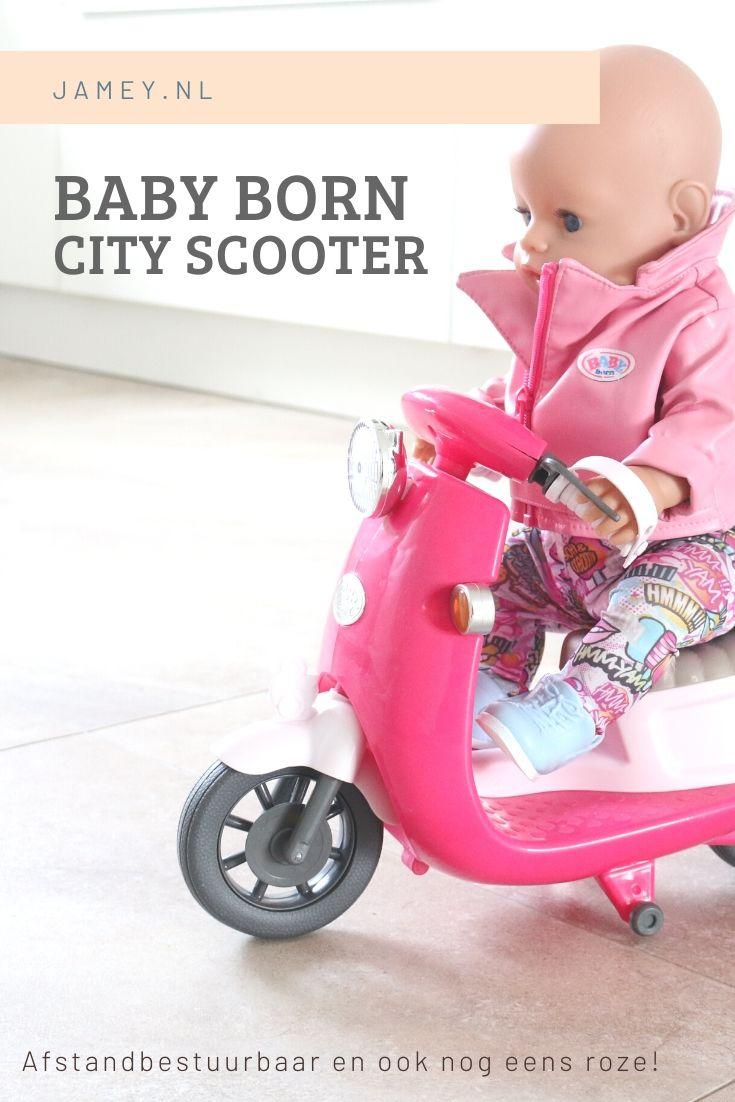 BABY born City Scooter – afstandbestuurbaar en ook nog eens roze!