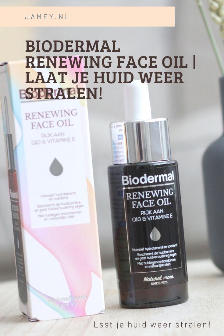 Biodermal Renewing Face Oil | Laat je huid weer stralen!