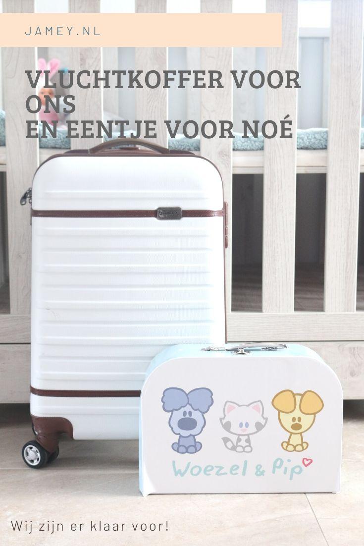 Vluchtkoffer voor ons, en eentje voor Noé-2