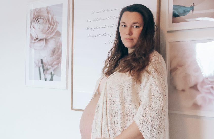 zwangerschap shoot 36 weken zwanger