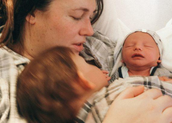 Eerste kennismaking bevallingsverhaal