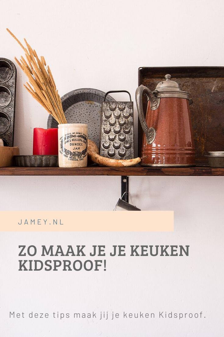 Zo maak je je keuken kidsproof!
