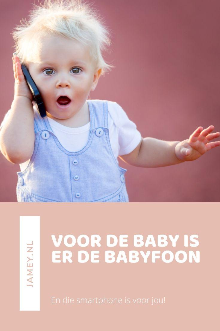 Voor de baby is er de babyfoon
