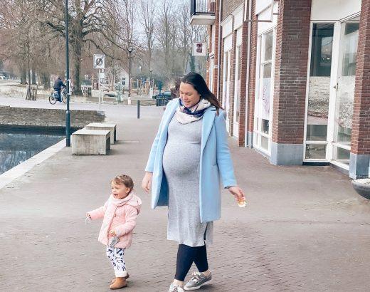 Tweede zwangerschap Manu