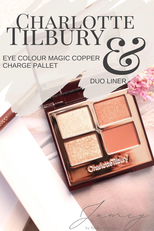 Charlotte Tilbury - Eye Colour Magic Copper Charge Pinterest