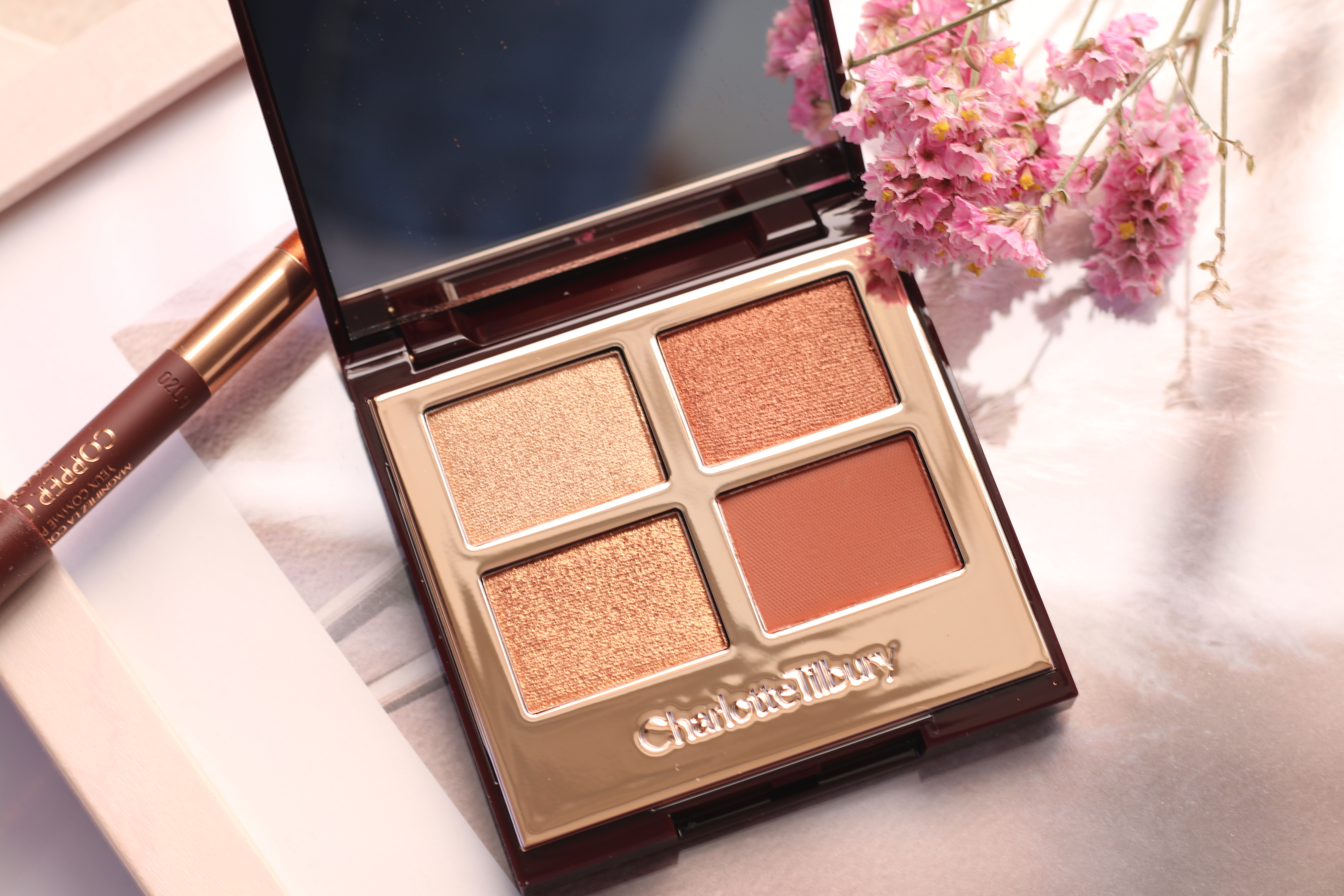 Charlotte Tilbury - Eye Colour Magic Copper Charge and liner