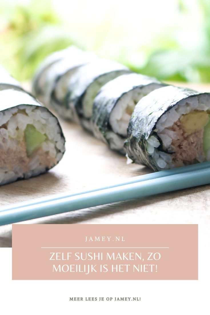 zelf sushi maken, zo moeilijk is het niet