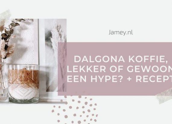 Dalgona koffie, lekker of gewoon een hype? + RECEPT