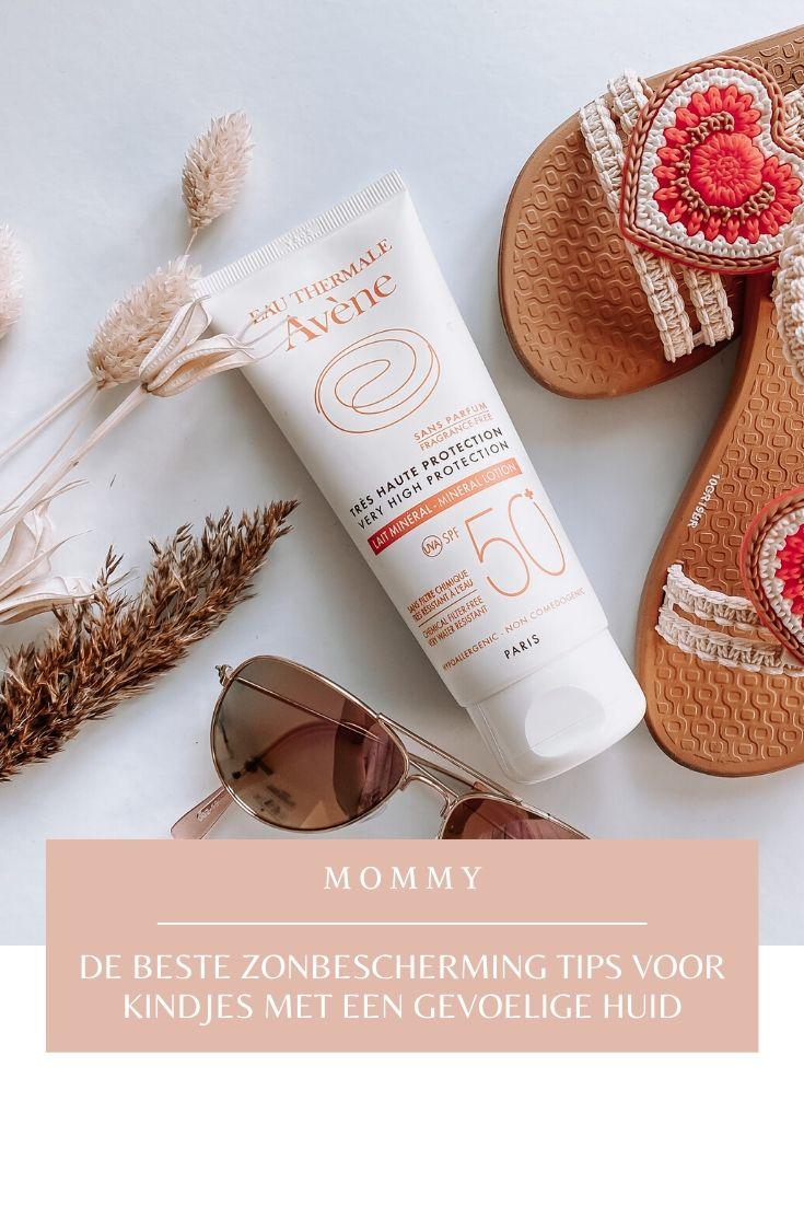 De beste zonbescherming tips voor kindjes met een gevoelige huid