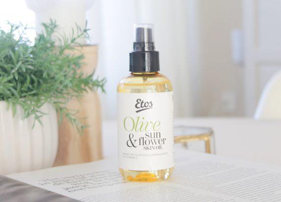 Etos Olive & Sun Flower Skin Oil