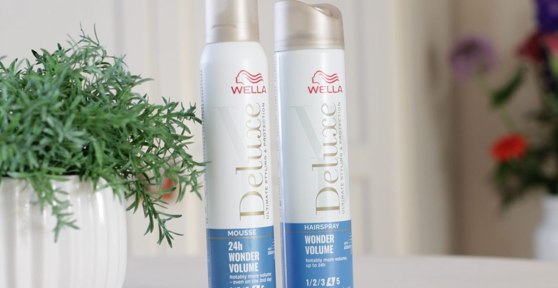 WELLA Wonder Volume Hairspray & Mousse