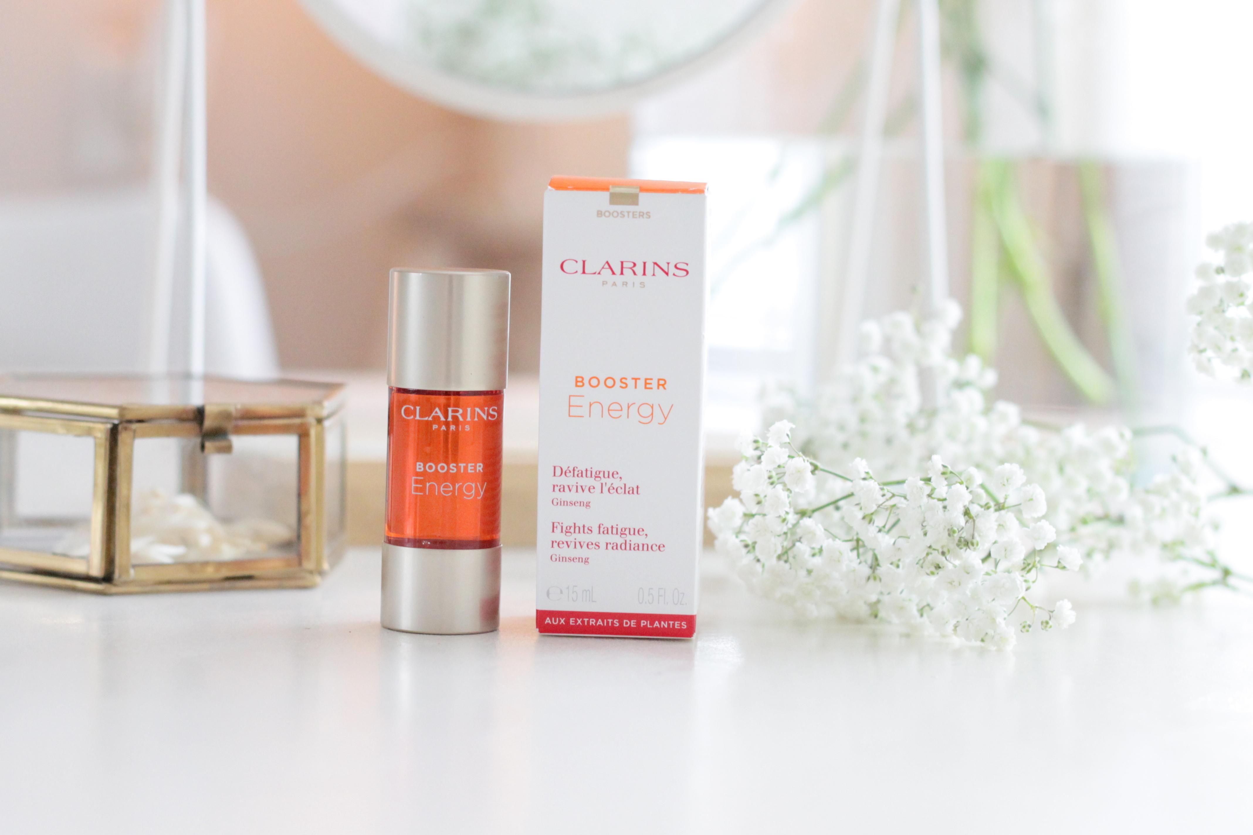 Clarins Booster Energy | Geef je huid nieuwe energie!