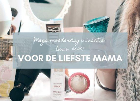 Mega moederdag winactie banner