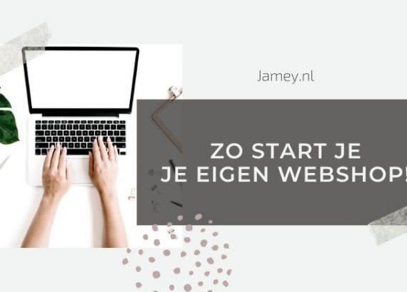 Zo start je je eigen webshop!