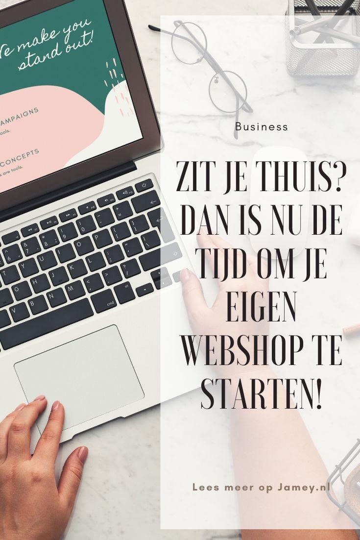 webshop starten