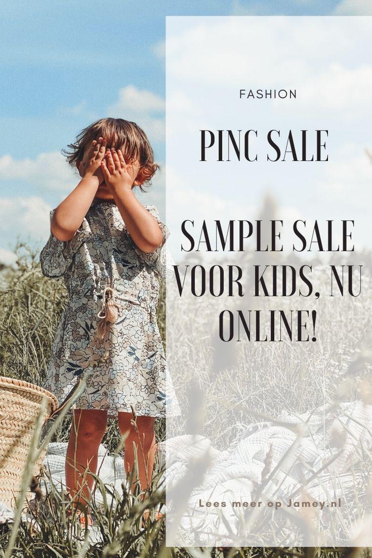 PINC Sale - Sample sale voor kids, nu online!