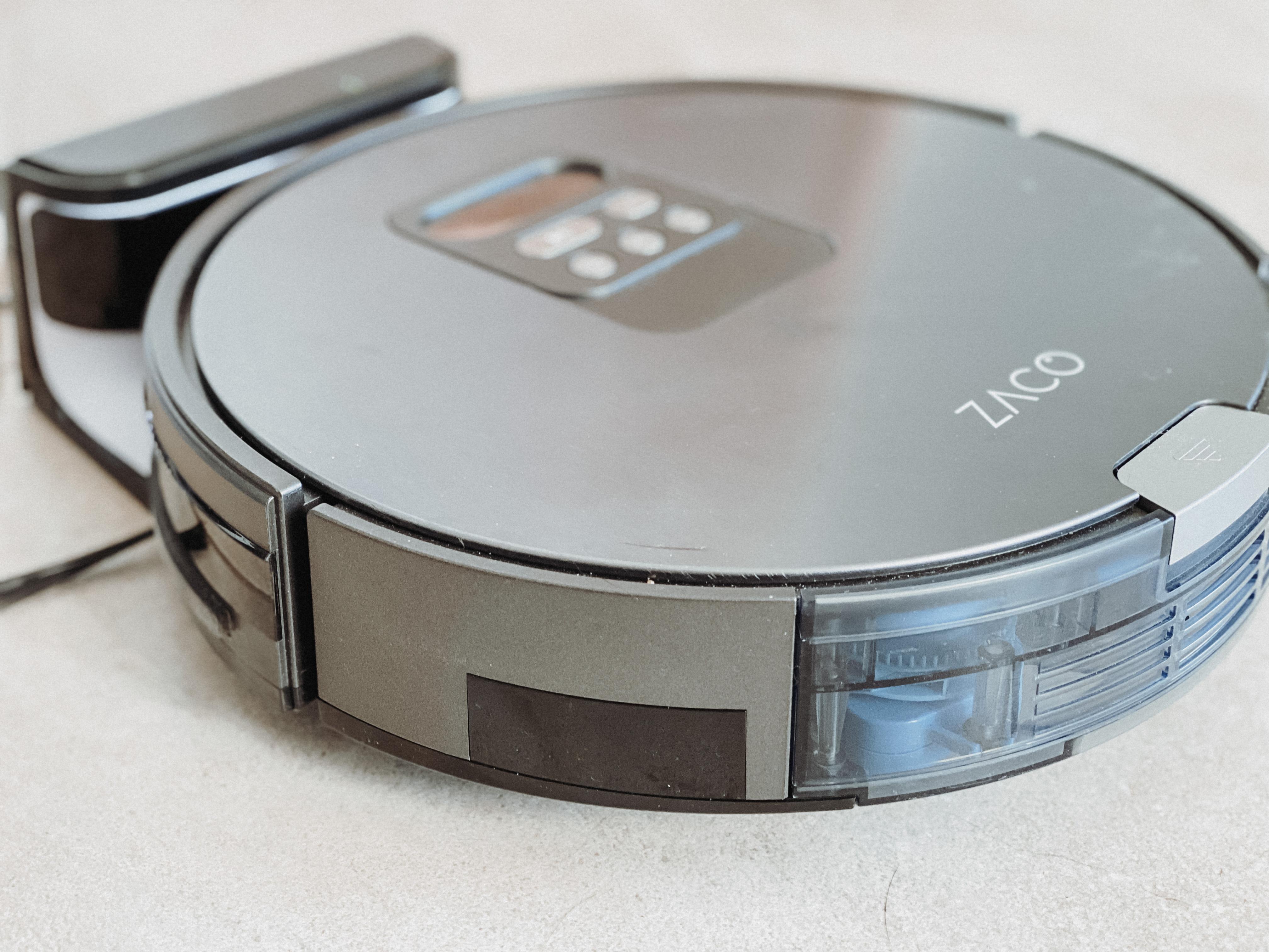 ZACO V80 2-in-1 Robotstofzuiger zijkant