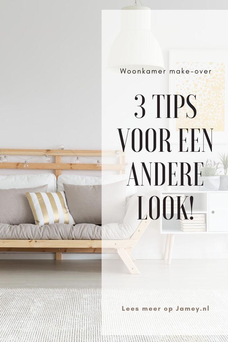 3 tips voor een andere look!