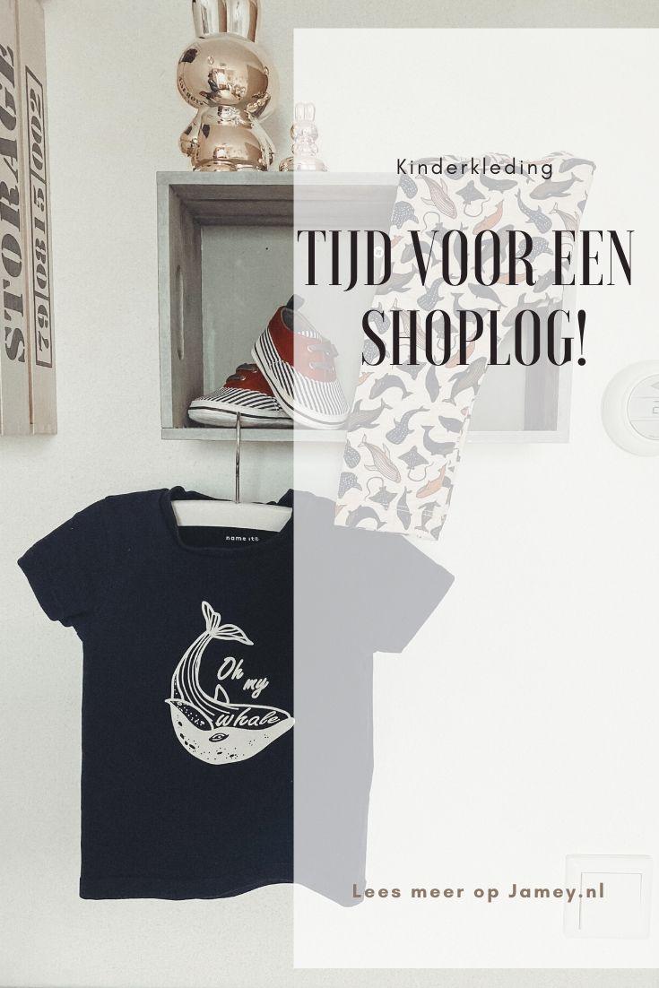 Tijd voor een kinderkleding shoplog!