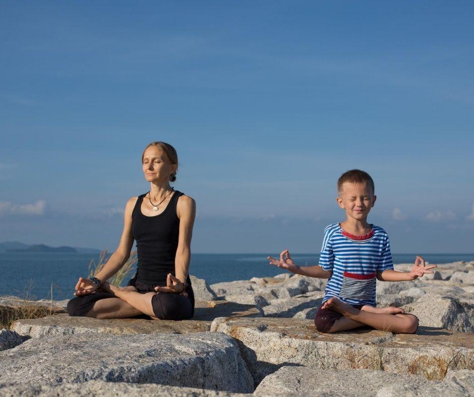 Yoga met kids
