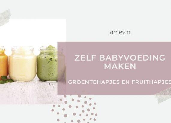 Zelf babyvoeding maken_ groentehapjes en fruithapjes