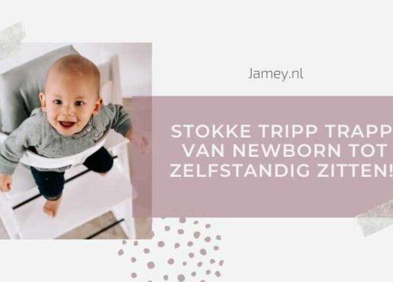 Stokke Tripp Trapp - Van newborn tot zelfstandig zitten!