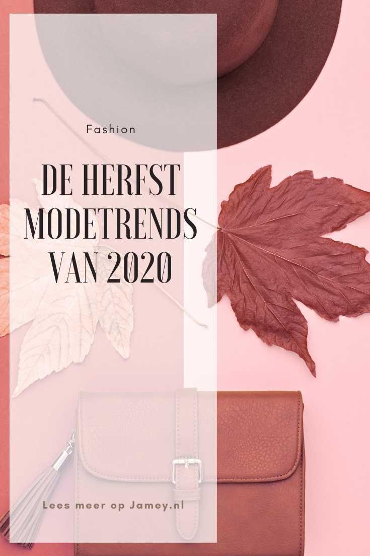 De herfst modetrends van 2020