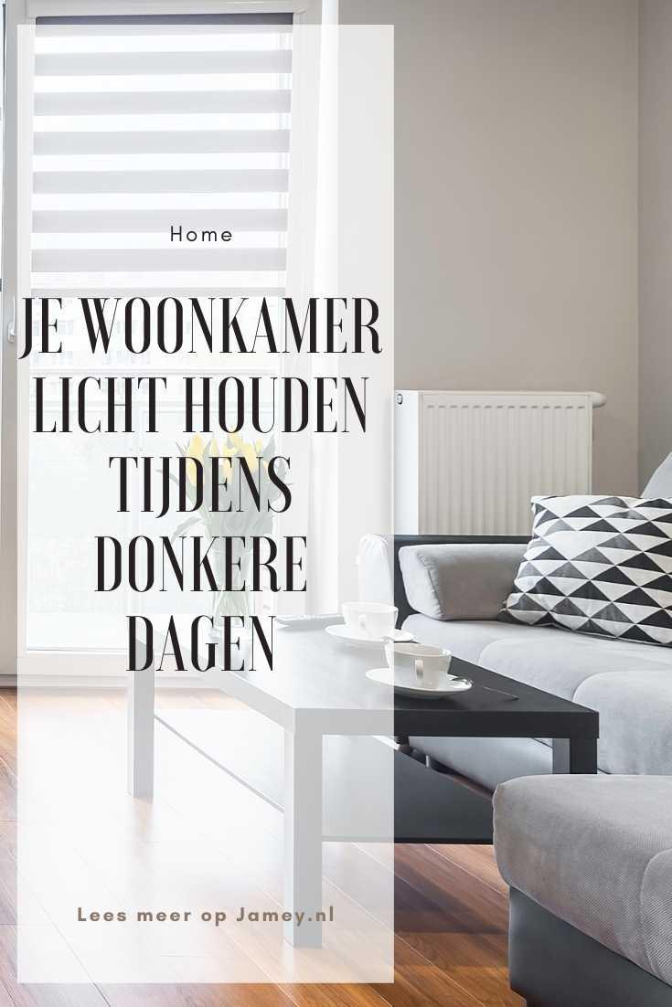 Je woonkamer licht houden tijdens donkere dagen