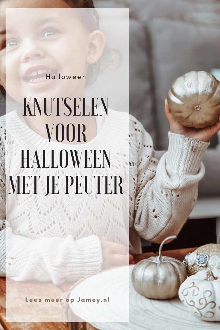 Knutselen voor halloween met je peuter