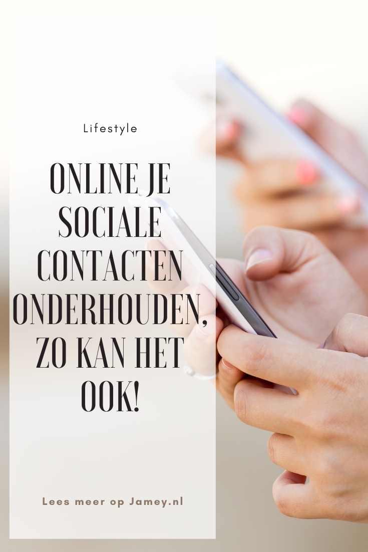 Online je sociale contacten onderhouden, zo kan het ook!