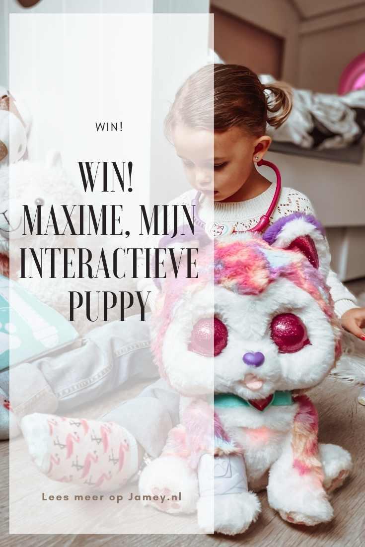 WIN! Maxime, Mijn Interactieve Puppy pin