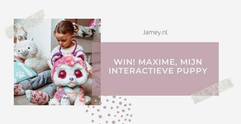 WIN! Maxime, Mijn Interactieve Puppy