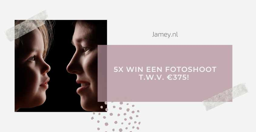 5x WIN EEN FOTOSHOOT T.W.V. €375! -2
