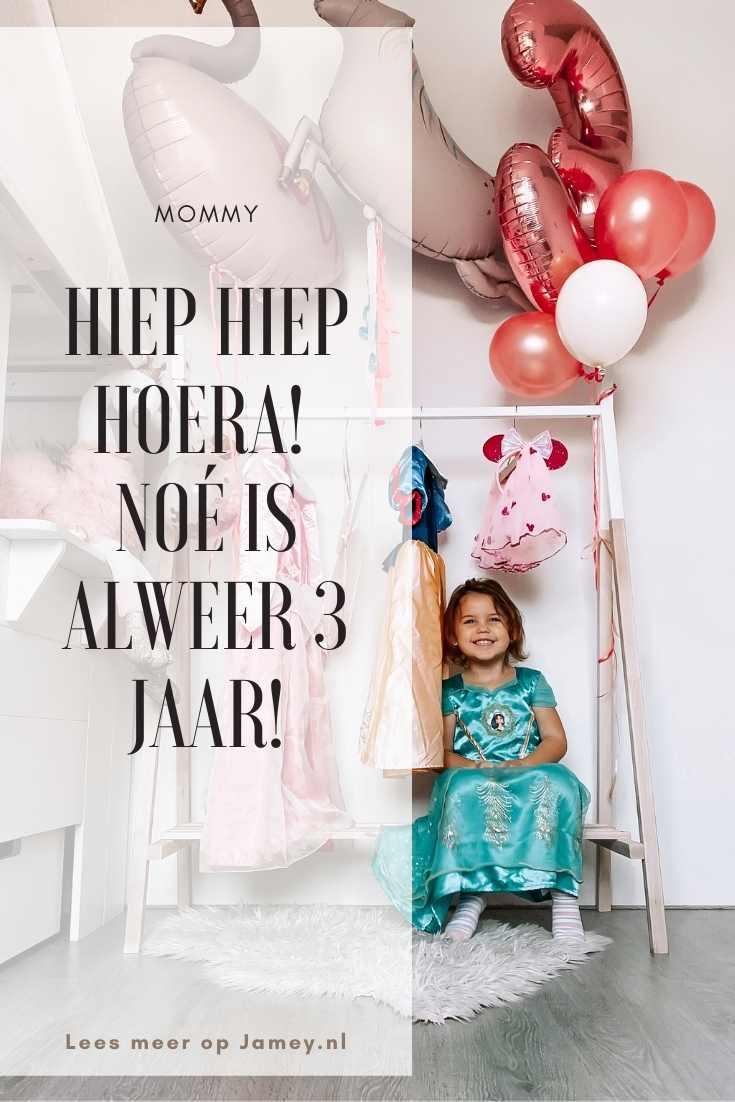 Hiep Hiep Hoera! Noé is alweer 3 jaar!