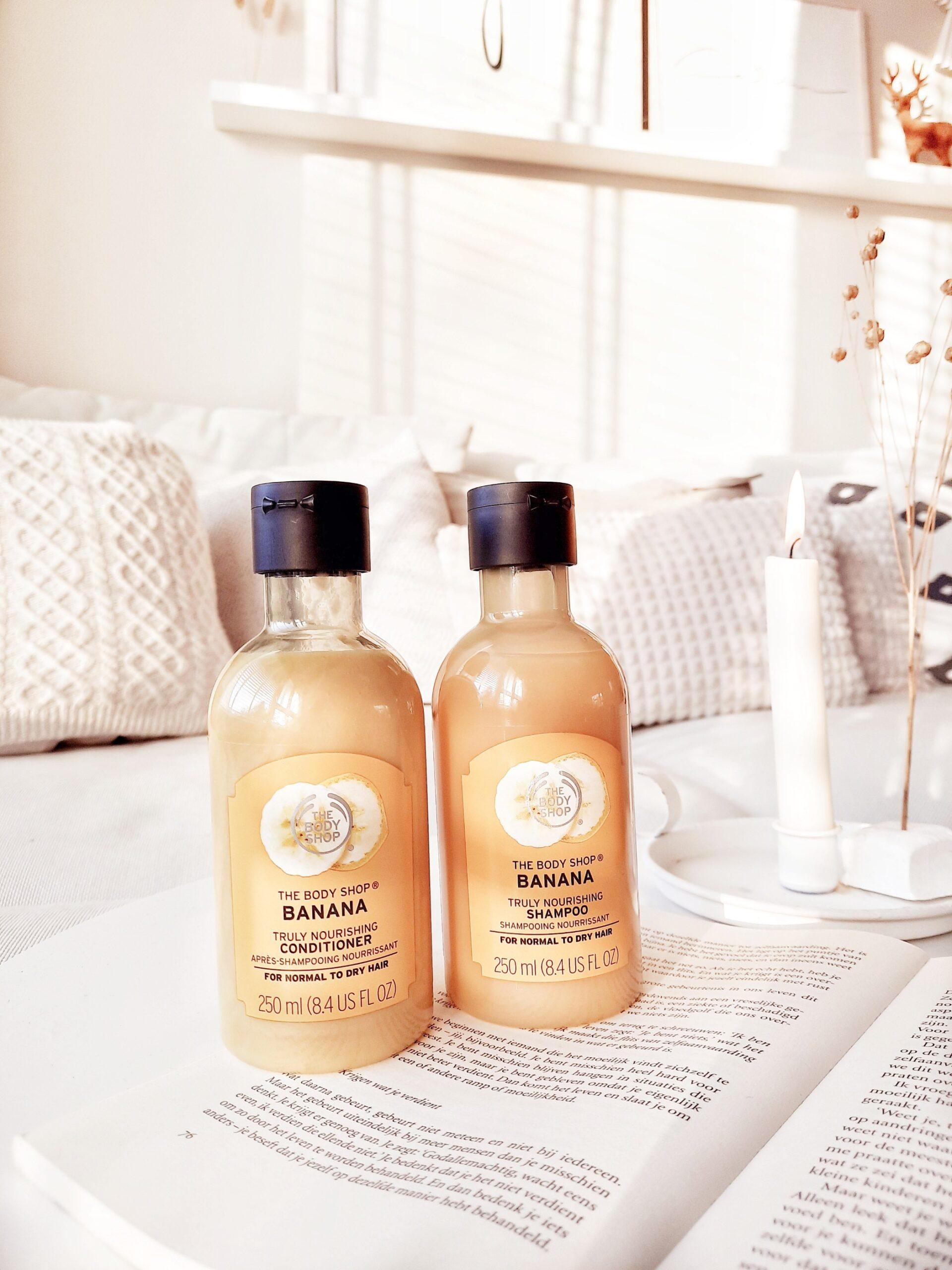 The Body Shop Banana Truly Nourishing Shampoo & Conditioner