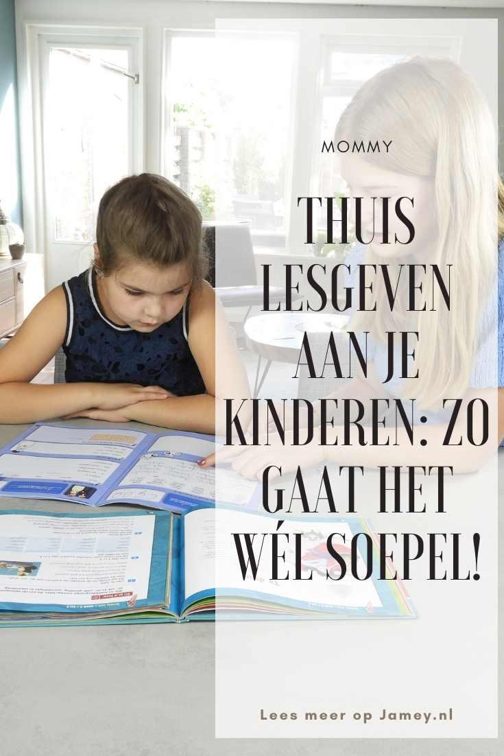 Thuis lesgeven aan je kinderen: zo gaat het wél soepel!