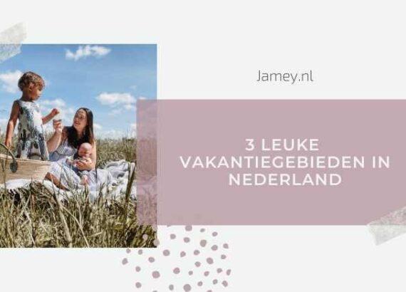3 leuke vakantiegebieden in Nederland